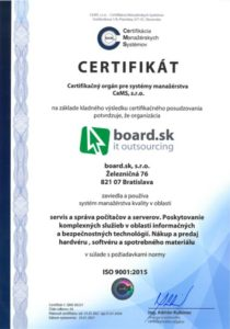 ISO 3001:2015